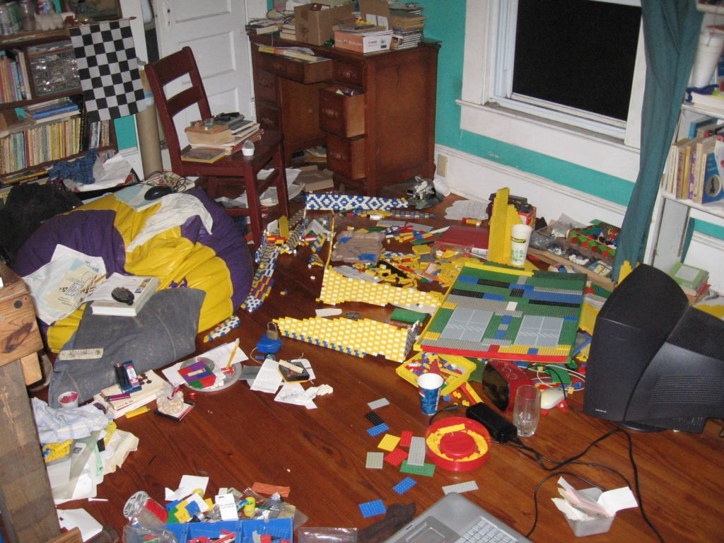 Image result for clean room vs messy room