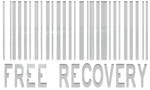 Free Recovery Barcode (Grunge/White)