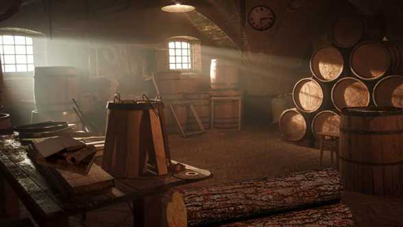 Escape Game: Barrel Factory Escape
