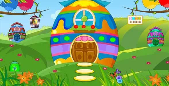 Knf Egg House - Bunny Escape