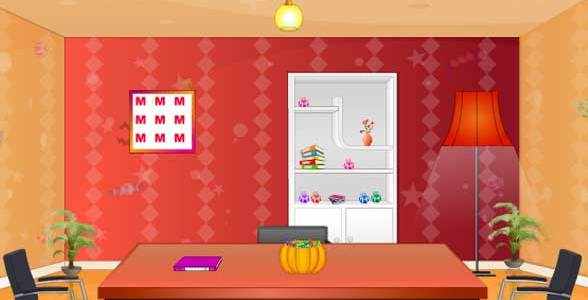 Toll Halloween Candy Room Escape