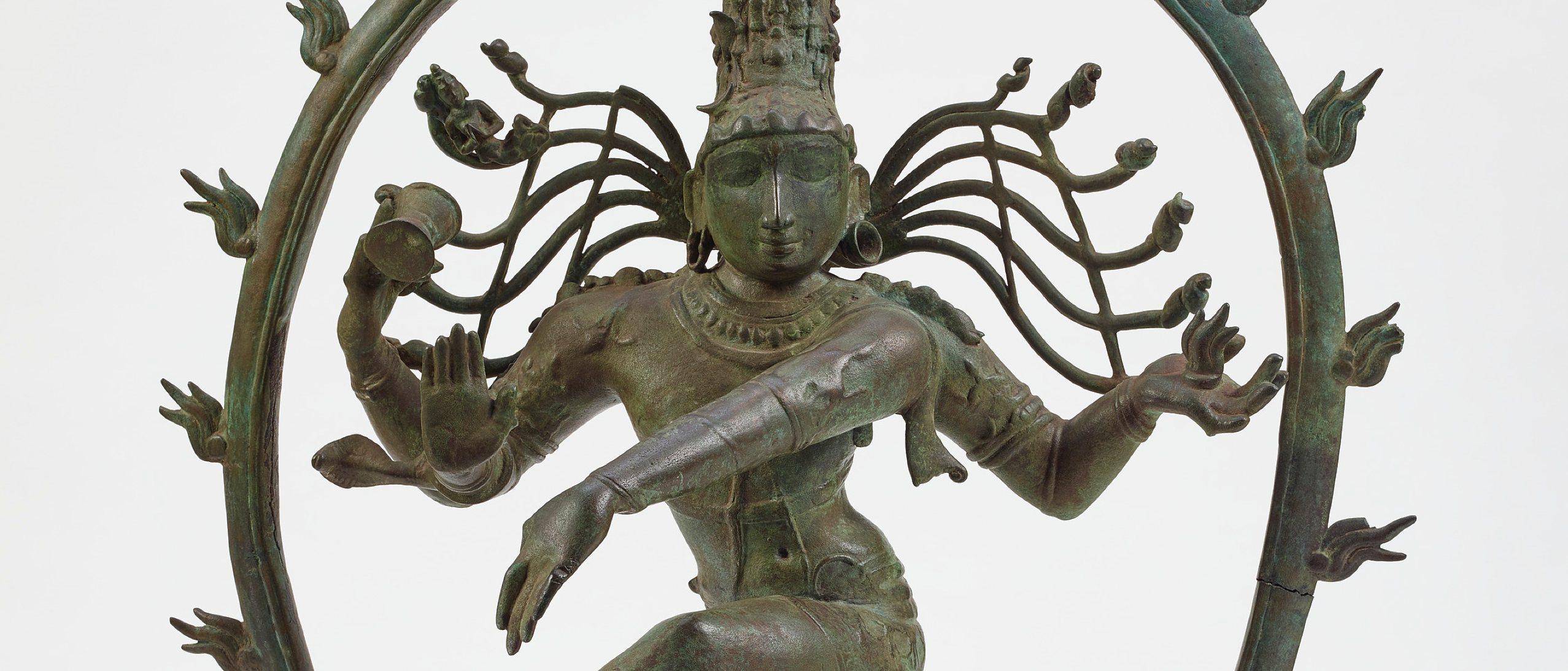 bronze statue of Shiva