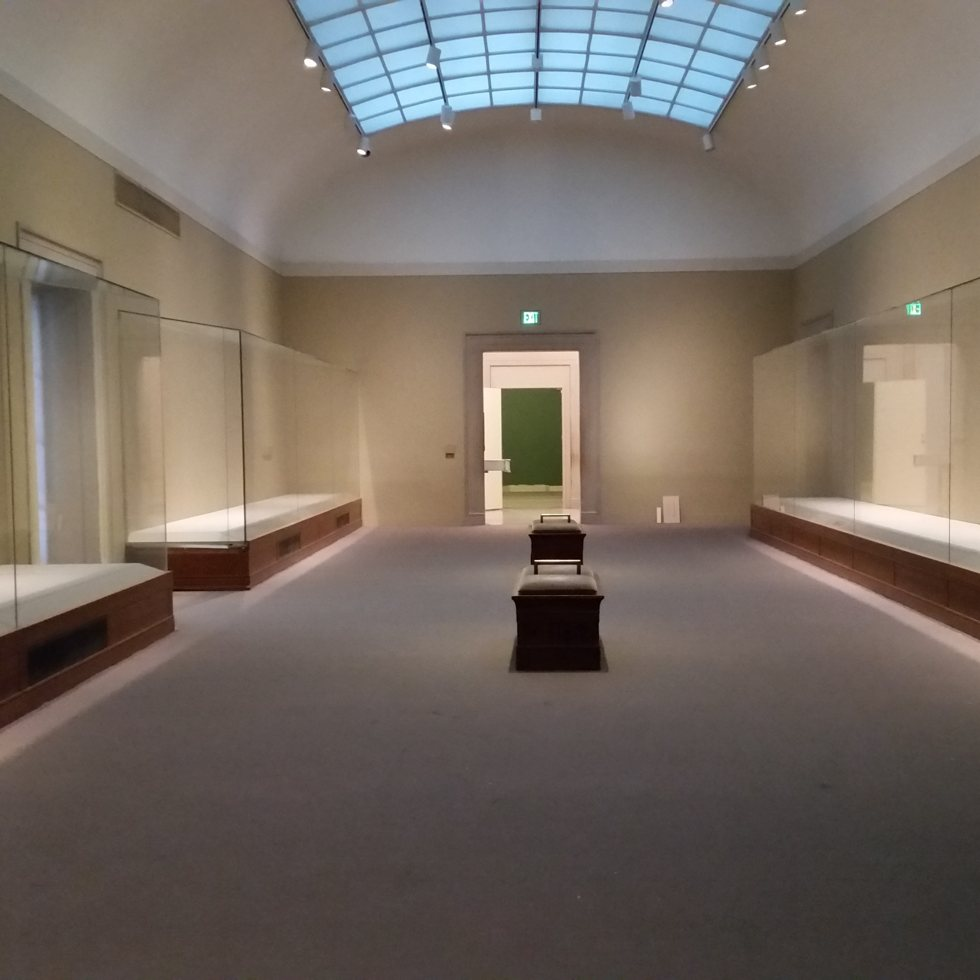 photo of an empty gallery