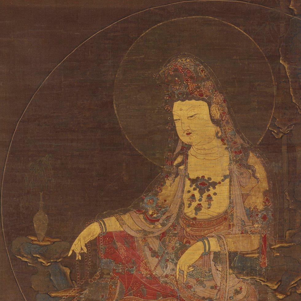 Water-Moon Avalokitesvara (Suwol Gwaneum bosal)