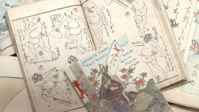 Several books from the Pulverer collection