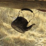 Tea kettle hanging