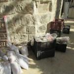 Storing pottery