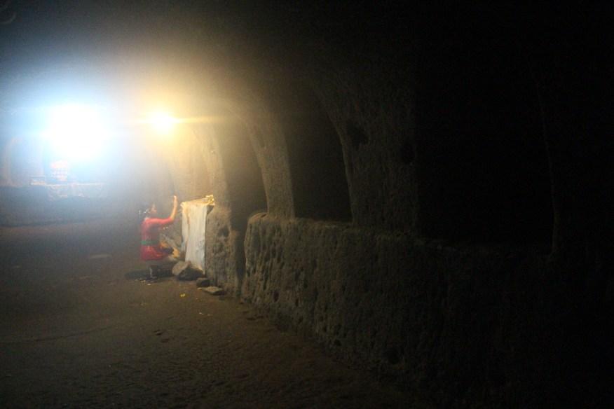 Goa Gajah cave interior