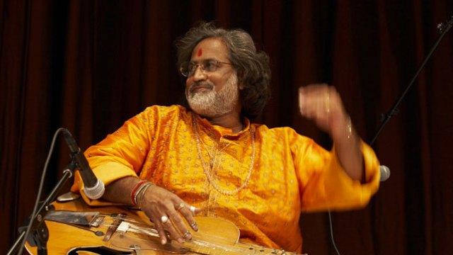 Performer: North Indian Classical Music: Vishwa Mohan Bhatt, mohan vina; Subhen Chatterjee, tabla