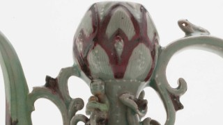 Photo of detail, Ewer, F1915.50