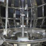 Inside of Weather-Ometer coating testing machine.