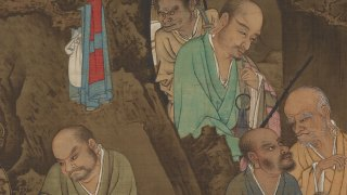 detail from a painting, F1902.22