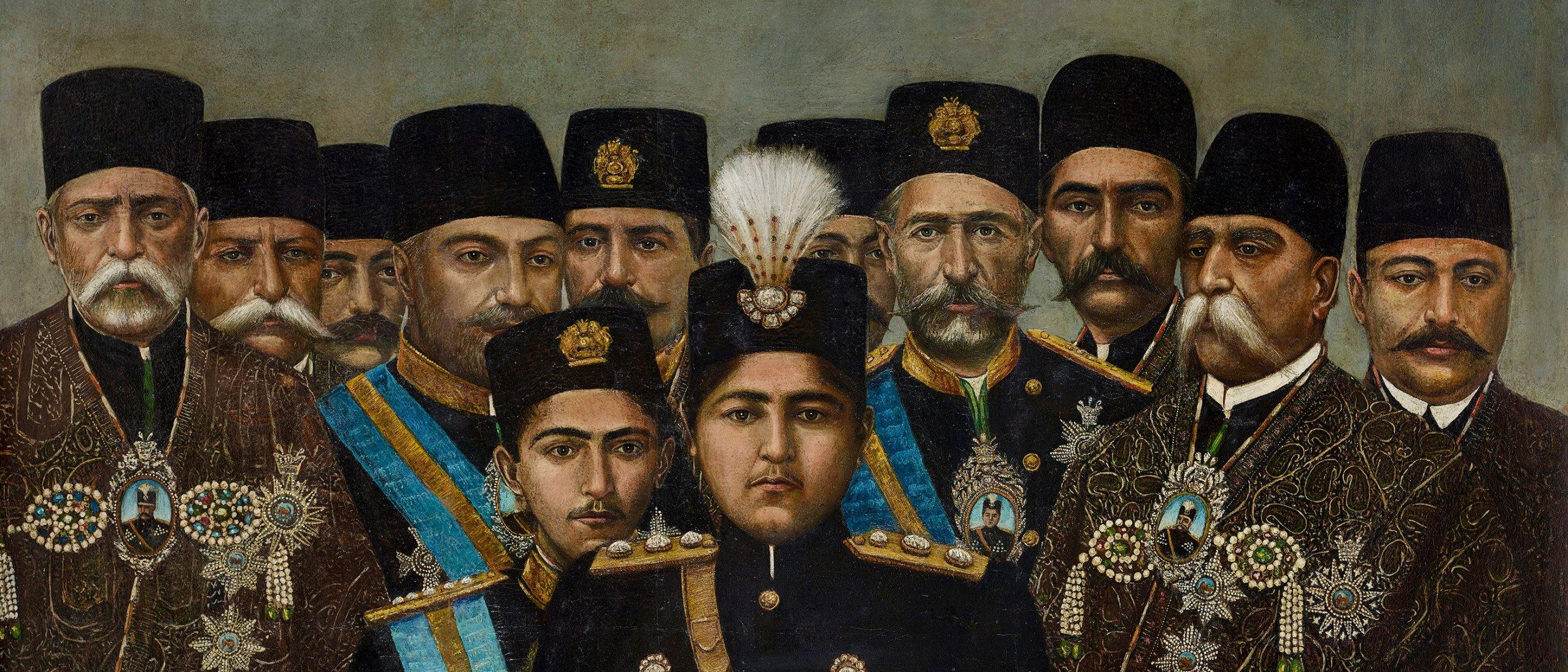 the prince and the shah royal portraits from qajar iran freer sackler