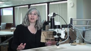 Photo, Closer Looks: Four Conversations - The Conservator: Emily Jacobson