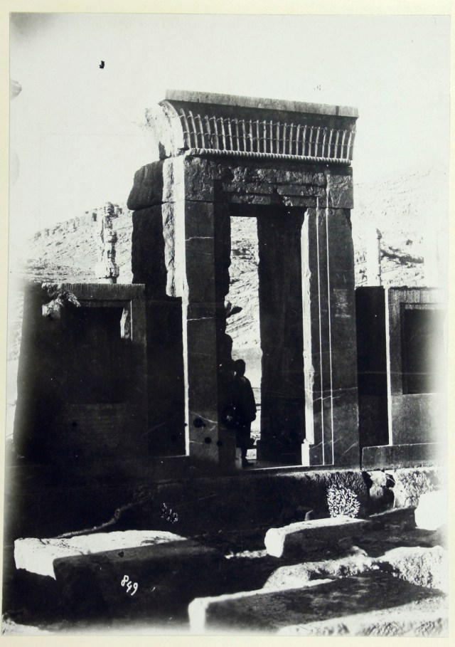 Photo, Sevruguin, Antoin,; b&w ; 15.9 cm. x 22.1 cm.; The Ernst Herzfeld papers. Freer Gallery of Art and Arthur M. Sackler Gallery Archives. Smithsonian Institution, Washington, D.C.