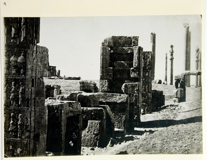 Photo, Sevruguin, Antoin,; b&w ; 22.5 cm. x 15.7 cm.; The Ernst Herzfeld papers. Freer Gallery of Art and Arthur M. Sackler Gallery Archives. Smithsonian Institution, Washington, D.C.