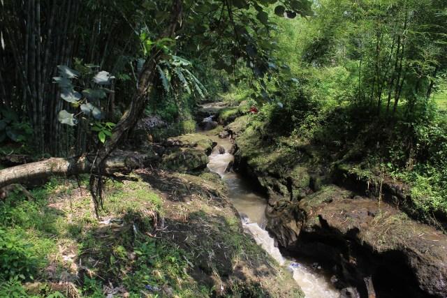 River through Ngawonggo Village