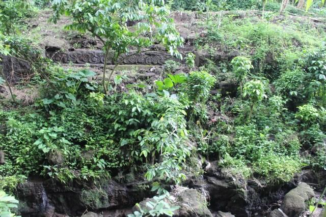 Archaeological sites across the ravine, Ngawonggo