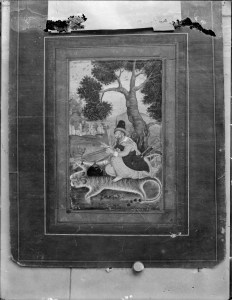 Sevruguin, Antoin,; b&w ; 23.9 cm. x 17.8 cm.; Myron Bement Smith Collection: Antoin Sevruguin Photographs. Freer Gallery of Art and Arthur M. Sackler Gallery Archives. Smithsonian Institution, Washington D.C. Gift of Katherine Dennis Smith, 1973-1985