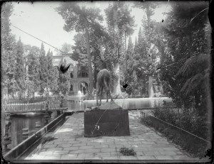 Sevruguin, Antoin,; b&w ; 24 cm. x 18.5 cm.; Myron Bement Smith Collection: Antoin Sevruguin Photographs. Freer Gallery of Art and Arthur M. Sackler Gallery Archives. Smithsonian Institution, Washington D.C. Gift of Katherine Dennis Smith, 1973-1985