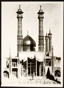 Hazrat-i Ma'suma Shrine Complex: View of the Mirror Iwan