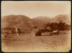 Sevruguin, Antoin,; b&w ; 22.3 cm. x 16.5 cm.; Stephen Arpee Collection of Sevruguin Photographs. Freer Gallery of Art and Arthur M. Sackler Gallery Archives. Smithsonian Institution, Washington D.C., 2011.