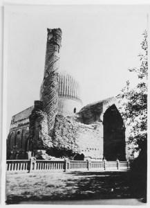 Gur-i Amir Complex: View of Northeastern Corner with Iwan Added in the Seventeenth Century