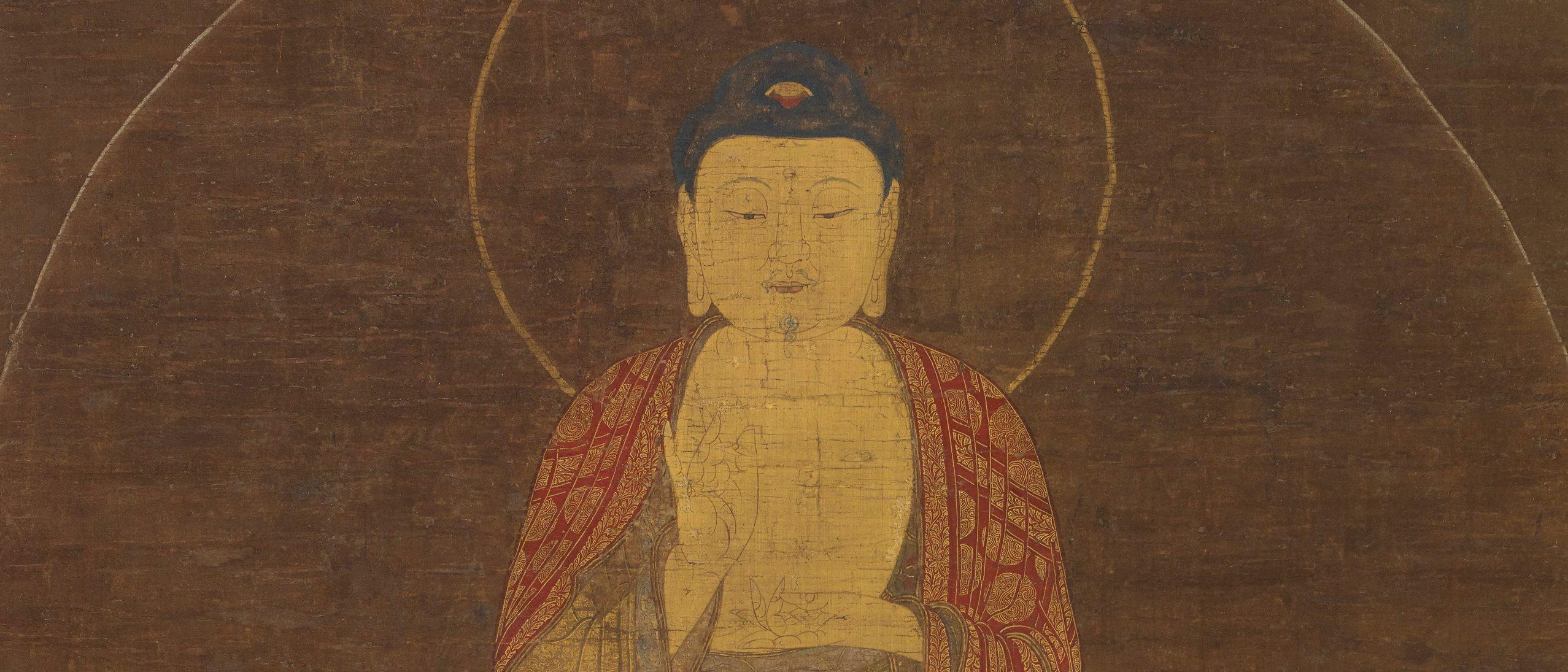 Buddha Amitabha (Amita) and the Eight Great Bodhisattvas