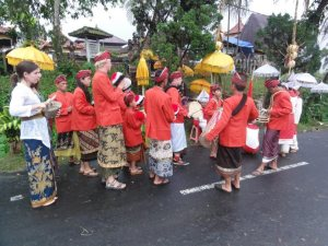 Gamelan Procession