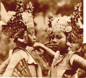 Balinese dancers at the 1931 Paris Colonial Exposition