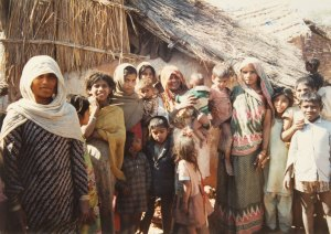 A group of Jhor villagers.
