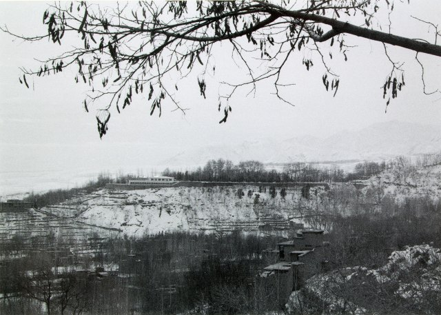 Snowy view from Istalif
