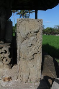 Relief of ascetic