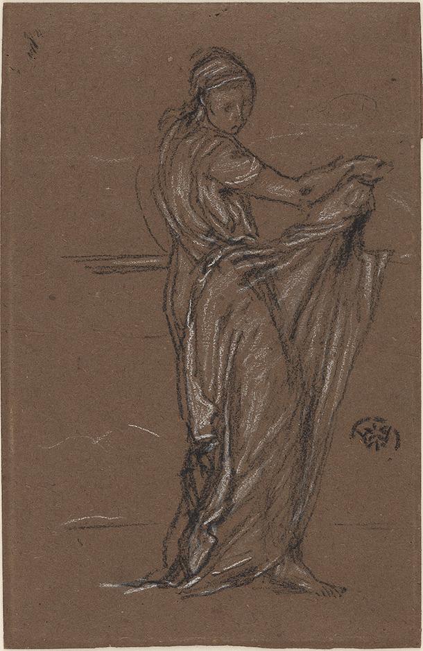 Draped Female Figure