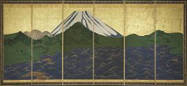 Waves at Matsushima and Mount Fuji
