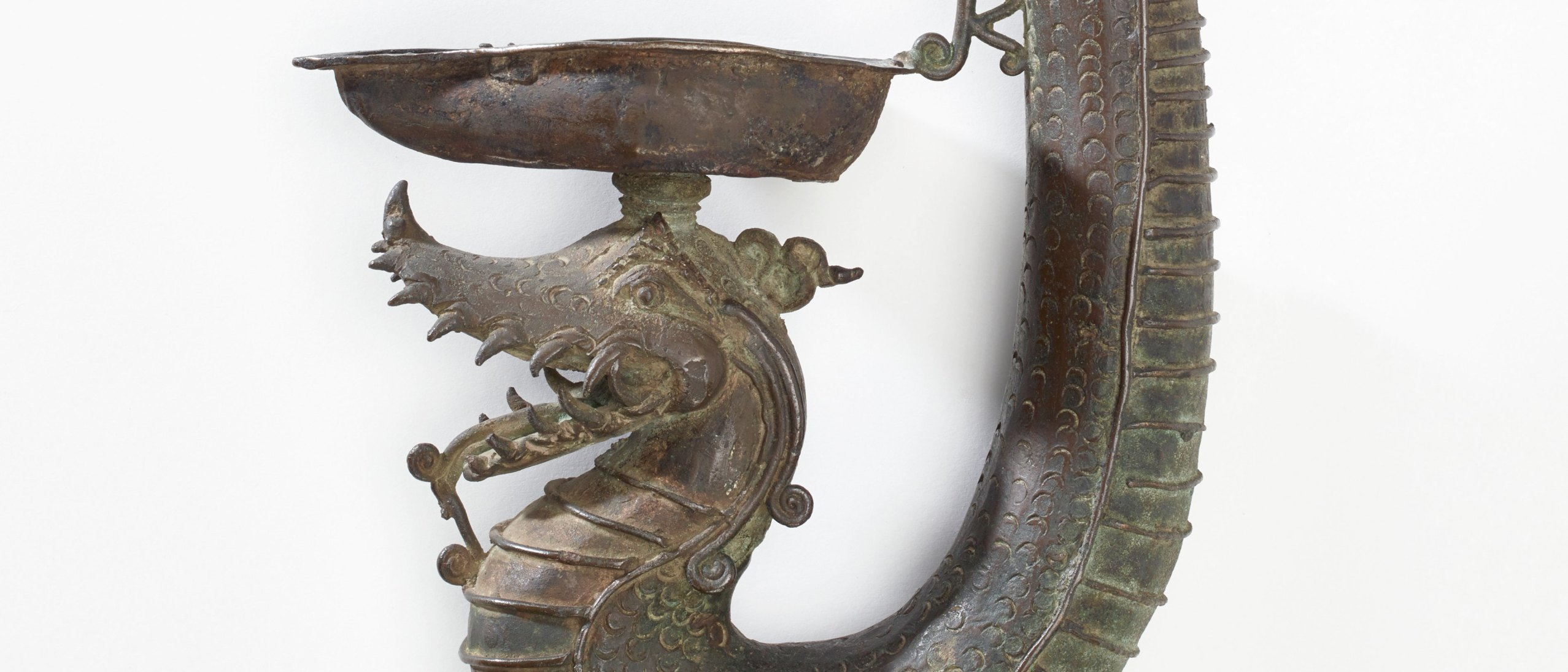 detail from Naga Oil Lamp
