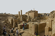 Excavation at Marib