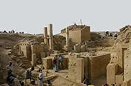 Excavation at Marib