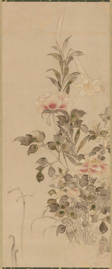 Peonies and Lilies