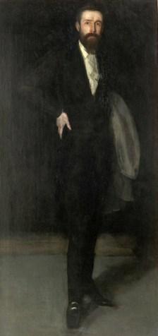 Arrangement in Black: Portrait of F.R. Leyland