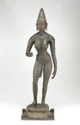 Bronze sculpture of Parvati