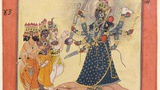 Brahma, Hindu god of creation