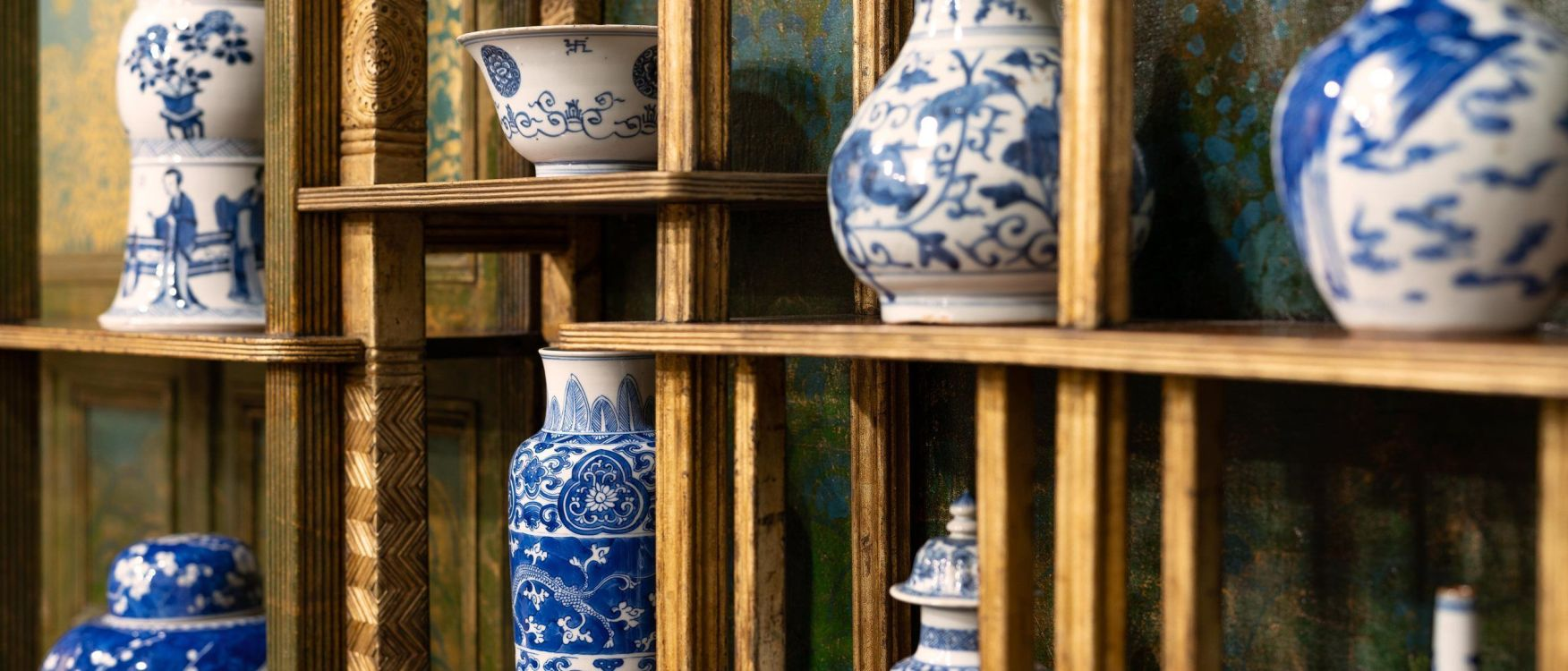 The Peacock Room in Blue and White
