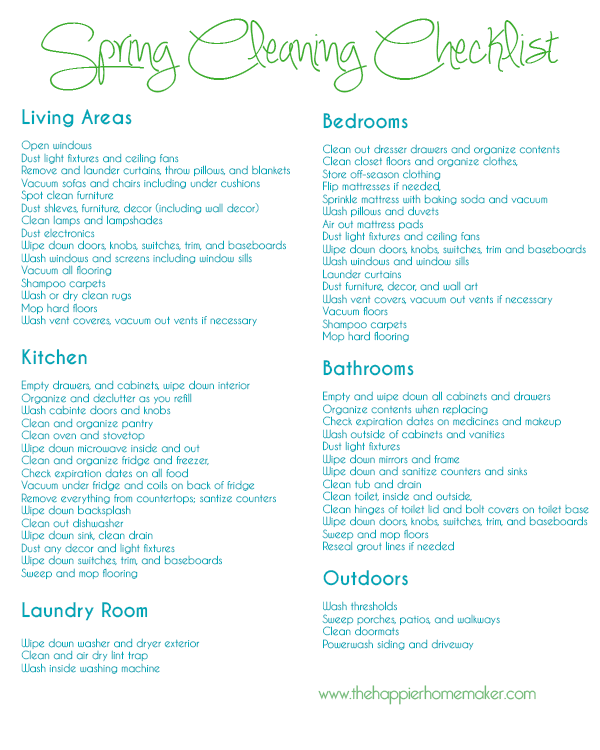 Laundry List Template. 13 free sample weekly chore list templates ...