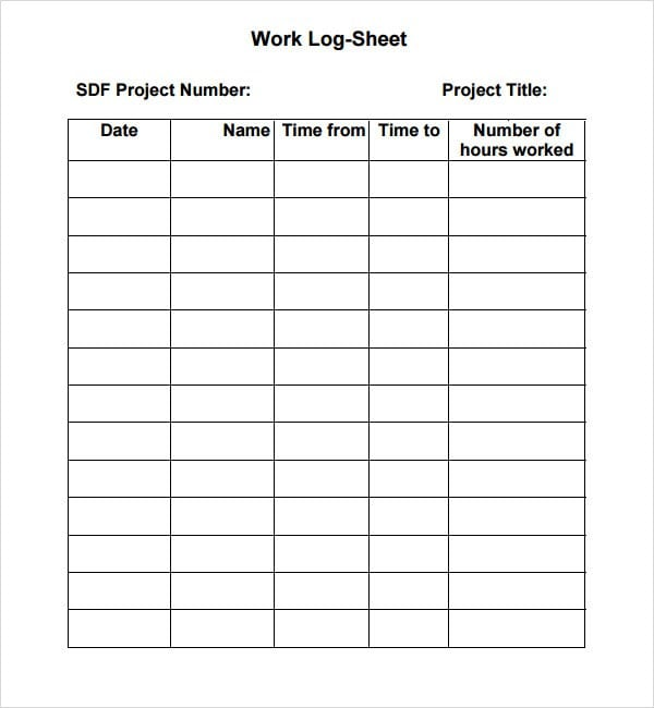 sign in sheets template