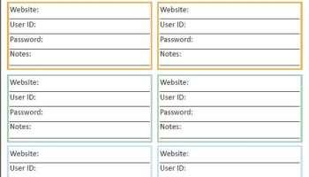 Password list template excel zrom 4 password list template receipt templates maxwellsz