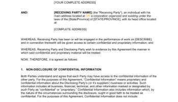 business agreement between two parties - Paso.evolist.co