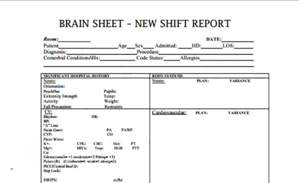 Daily Shift Report Templates Are Added Below Great Ideas