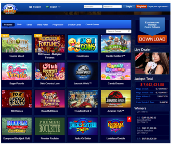 All Slots casino games to play