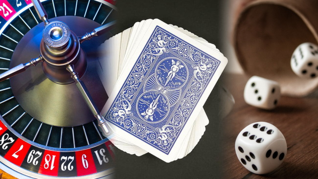 Are winning casino games all about luck?